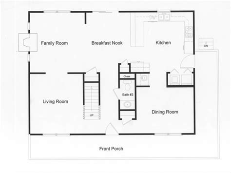 open floor plan house plans log modular home floor plans modular open floor plan large country kitchen and open living space