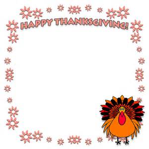Happy Thanksgiving Clip Art Borders