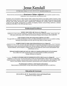 claims adjuster resume shalomhouseus With claims adjuster resume template