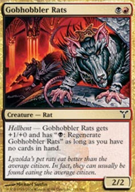 rat deck mtg legacy hellbent madness legacy mtg deck