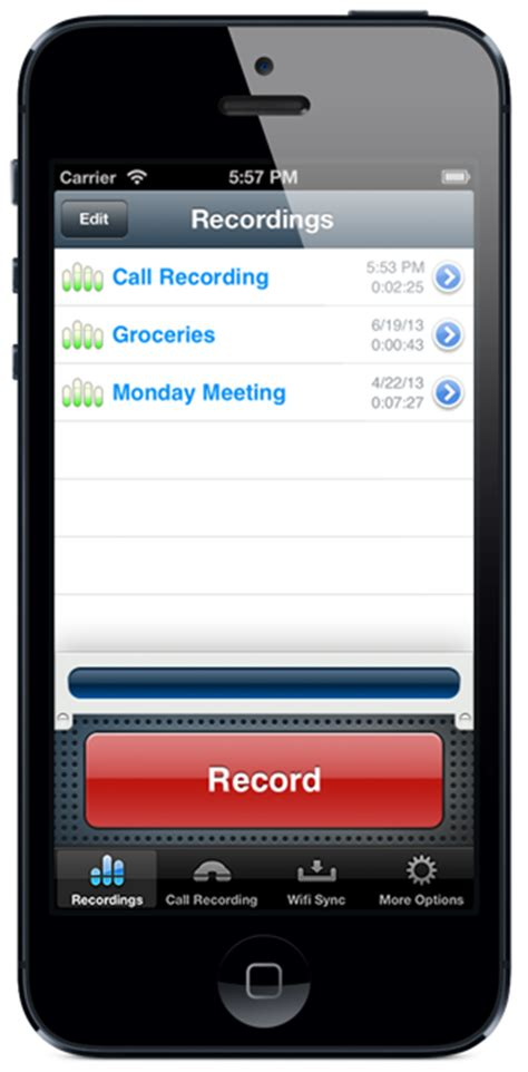 iphone recorder the iphone recorder