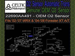 Genuine Subaru Oem Oxygen O2 Sensor 02 T