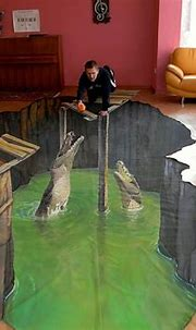 25+ New Cool & Creative 3D Street Art Paintings 2012 ...