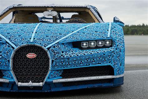 While the lego technic bugatti chiron looks cool, it moves under its own power, too. Lego construye un Bugatti Chiron de tamaño real que se puede conducir (VIDEO)   MISCELANEA   CORREO