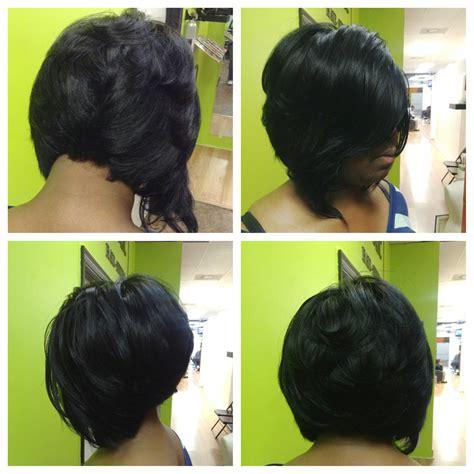 Illusion Part Quick Weave   hairstylegalleries.com