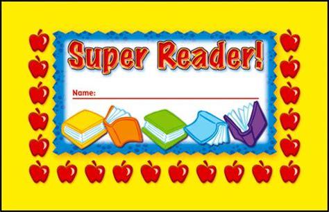 Super Reader Incentive Punch Card (028478) Details