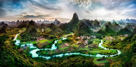Picture Of The Day Northern Guangxi Province China