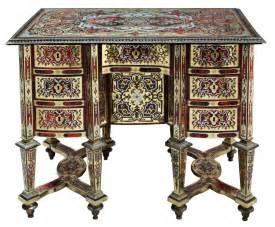 bureau mazarin a small louis xiv ormolu mounted boulle marquetry bureau