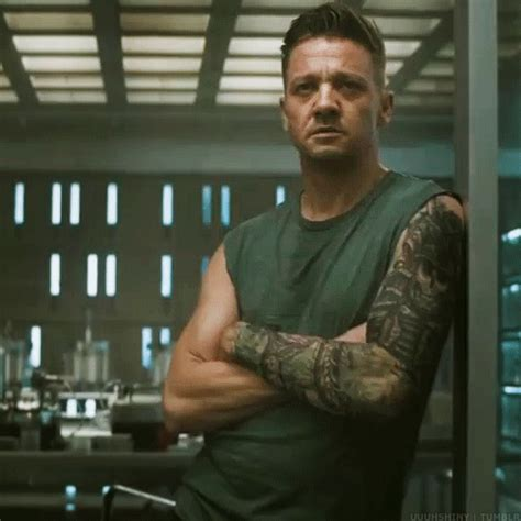jeremy renners arms | Tumblr