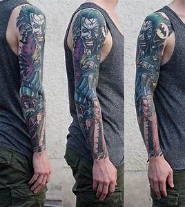 The 25+ best ideas about Batman Tattoo Sleeve on Pinterest ...