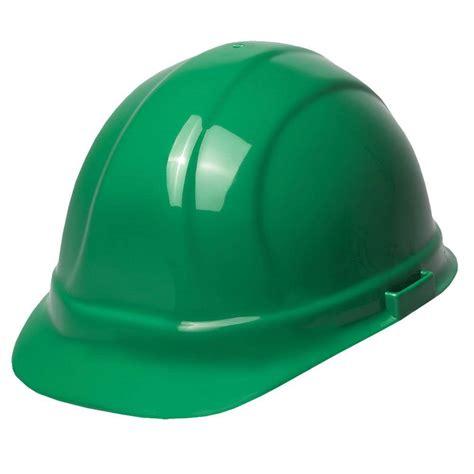 erb omega ii 6 point suspension mega ratchet cap hat in green 19958 the home depot