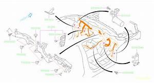 Subaru Crosstrek Bracket  Bulkhead  Wiring  Room