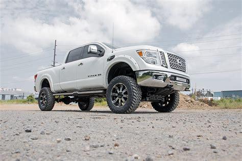 nissan titan xd lifted 2016 nissan titan xd w 6in suspension lift kit titan