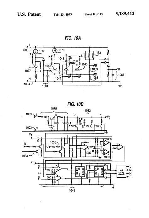 Harbor Ceiling Fan Circuit Board by Fan Circuit Wiring Diagrams Wiring Diagrams