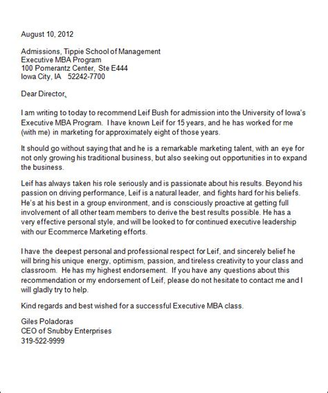 college recommendation letters   word