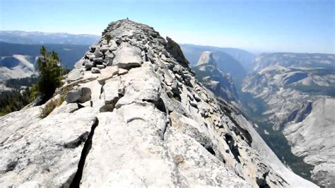 clouds rest summit yosemite national park youtube