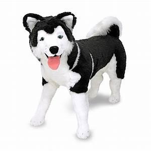 Melissa & Doug® Husky Dog Giant Stuffed Animal - www ...