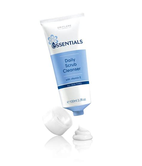 oriflame essentials daily scrub cleanser buy oriflame