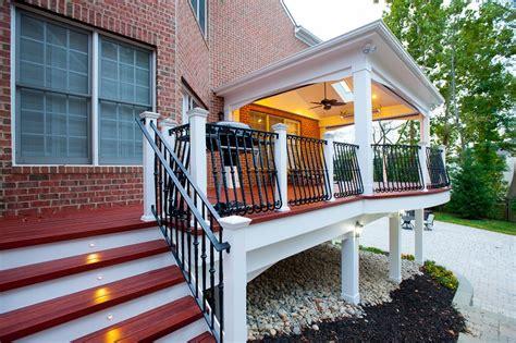 screened porch cost compared   deck