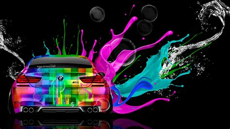 bmw    colors water car  el tony
