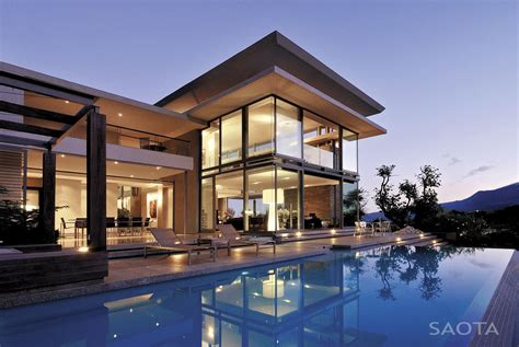 House With Stunning Views In Cape Town, South Africa : World Of Architecture