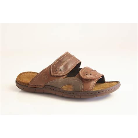 designer slide sandals josef seibel design quot paul 07 quot slide sandal with two velcro