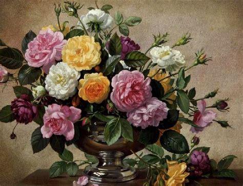 cuadros modernos pinturas y dibujos bodegones de flores pintados al 211 leo