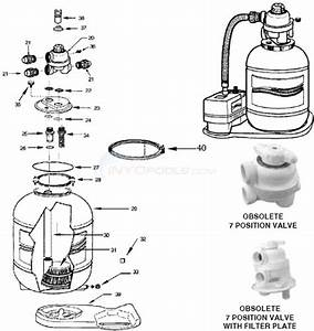 Muskin Sand Filter System Parts