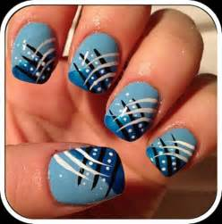 Navy blue nail art gorgeous nails pretty designs