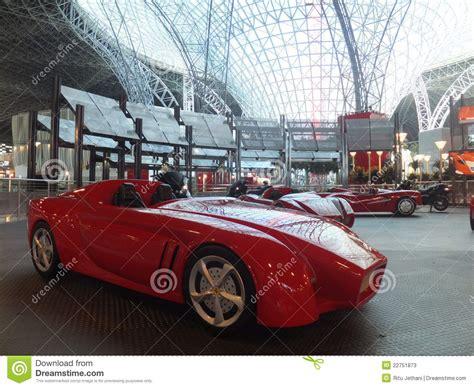 Ferrari World In Abu Dhabi, Uae Editorial Image
