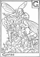 Coloring Fairy Alphabet Letter Letters sketch template