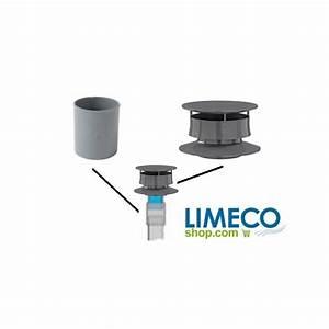 Extracteur Fosse Septique : kit de montage pour vent avec extracteur statique ~ Premium-room.com Idées de Décoration