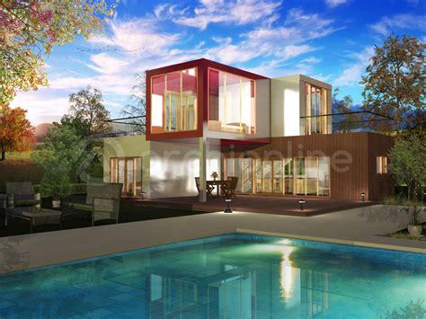le de bureau architecte plan de maison moderne container archionline