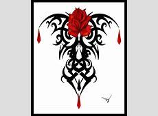Gothic Vamp Rose Tattoo By Lisa Herron Advanced Photoshop
