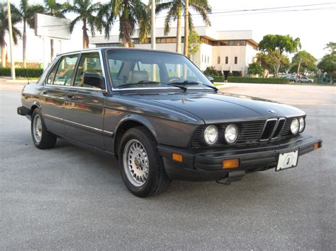1986 Bmw 535i by Just A Car 1986 Bmw 535i A Great Everyday Quot Classic Quot