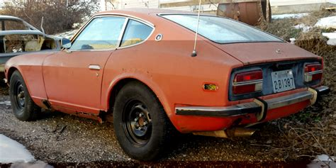 Datsun Parts 1971 datsun 240 z parts car with clear title for sale in