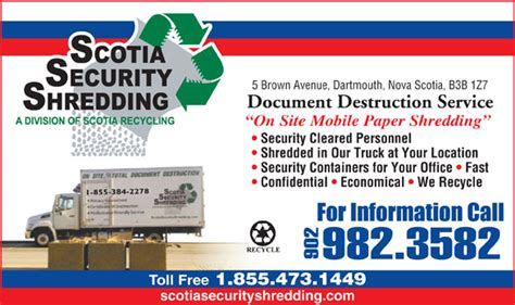 Scotia Security Shredding
