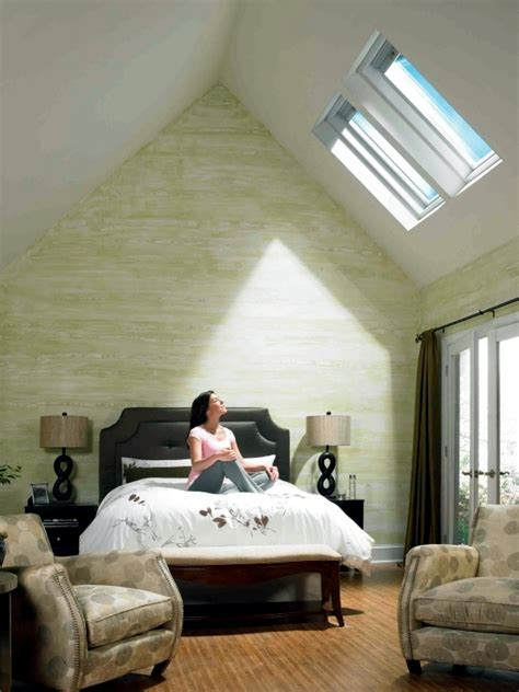 small attic bathroom ideas installing skylights and the look advantages and