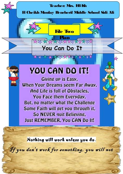 Ms4 You Can Do It