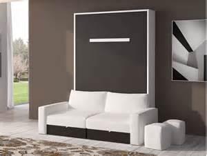 Armoire Lit Escamotable Canapé Intégré by Indogate Com Fabriquer Meuble Salle De Bain Palette