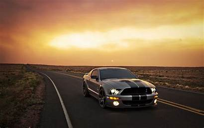 Mustang Ford Sunset Wallpapers Cars Backgrounds Pc