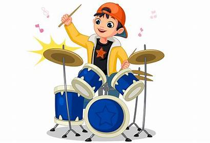 Drum Playing Boy Drums He Clipart Puzzle
