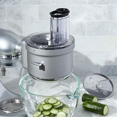 Kitchenaid Food Processor Juicing Attachment by Kitchenaid 174 Food Processor Attachment Crate And Barrel
