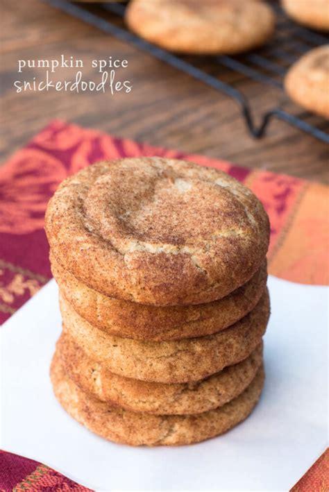 Skinnytaste Pumpkin Spice Snickerdoodles by Pumpkin Spice Snickerdoodles Recipe
