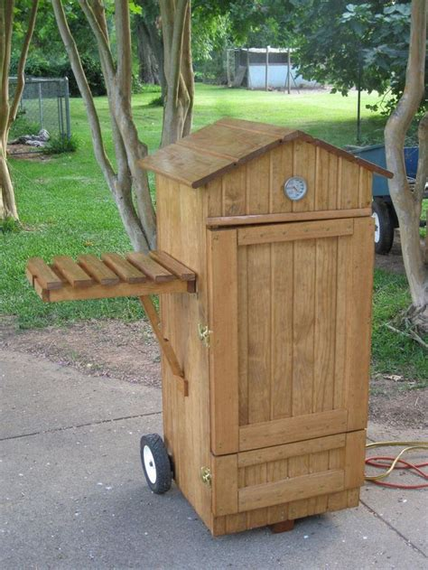 build   timber smoker  projectsatobn