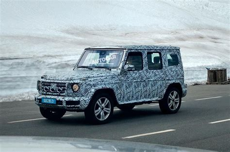 More 2018 Mercedesbenz Gclass Spy Shots Show Up