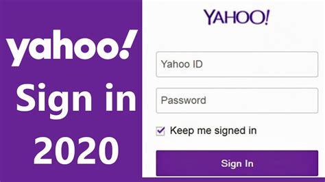 Yahoo.com   Yahoo Mail Login 2020   www.yahoo.com Sign In ...