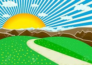 Landscape Clip Art Vector – Cliparts