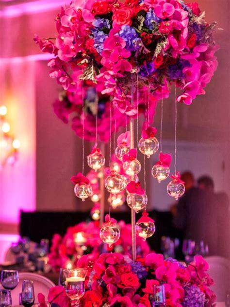 wedding decor ideas  tall centerpieces