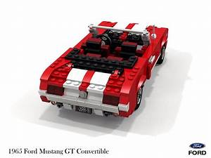 Lego Technic Mustang : ford mustang gt convertible 1965 lego cars lego ~ Kayakingforconservation.com Haus und Dekorationen